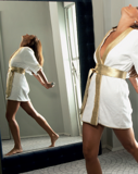 Халат от Cesare Paciotti Short robe Gold carpet , V13, чёрный
